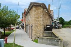 Corner building in Warren, Illinois (Cragin Spring) Tags: building oldbuilding architecture skinny flat illinois il northernillinois midwest smalltown warren warrenil warrenillinois unitedstates usa unitedstatesofamerica