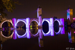 Pont Valentr (black cat 64) Tags: nuit ville cahors