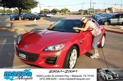 #HappyAnniversary to Linda and your 2011 #Mazda #Rx-8 from Everyone at Mazda of Mesquite! (Mazda Mesquite) Tags: mazda mesquite texas tx sportscars sporty dallas dfw metroplex automotive luxury new used preowned vehicles car dealer dealership happy customers truck pickup sedan suv coupe hatchback wagon van minivan 2dr 4dr bday shoutouts