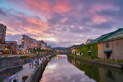 Red Otaru (yiming1218) Tags: otaru unga      japan hokkaido reflection landscape sony fe 2470mm gm f28 g master sel2470gm ilce7rm2 a7rm2 a7r2 evening glow sunset red