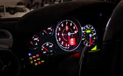 Ferrari F-430 16M Scuderia - Gauges (johnux) Tags: red car f1 ferrari spyder modesto exotic formula alpha scuderia f430 430 hooman safavi 16m mirrorless 1650mm a6000 selp1650 epz1650mmf3556oss epz1650mmf3556osspowerzoomlens