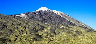 Teide, pico nevado