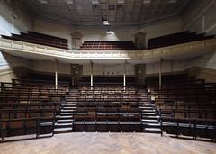 (Subversive Photography) Tags: abandoned college education university chairs theatre symmetry urbanexploration seats derelict lecturehall urbex 17mmtse danielbarter sonya7r