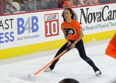 Erika Choi Smith (Paul Rudderow- Jersey Shooter) Tags: philadelphia nhl flyer skating cleaners icehockey icegirl rudderow