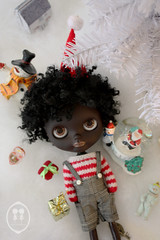 My Custom Commission Black Blythe Doll.