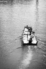 Looking for Fish and Chips (Ng Shu Yuan) Tags: blackandwhite port landscape boat seaside fishing nikon district taiwan row taipei vignette tamshui bnw decisivemoment nikond7000 loverdbridge