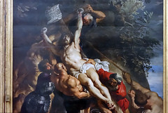 Rubens, Elevation triptych, Christ