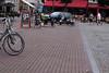 IJspretbord . . . (willem_huwae) Tags: canon centrum terras fietsen bord beton limburg sittard wagen ijspret scootmobiel marktplein kinderkoppen willemhuwae