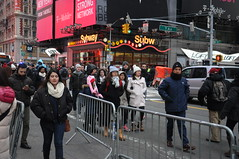 Times Square New Years Eve, 2014-2015 (zaxouzo) Tags: people ny afternoon timessquare newyearseve 2014 nikond90