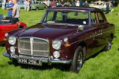 Rover 3.5 Litre P5B (1970) (SG2012) Tags: auto classiccar automobile rover oldtimer oldcar autodepoca motorcar carphoto carpicture cocheclasico voitureclassique carphotograph carimage khk296j 07092014 hoghtontowerclassiccarshow