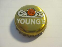 Young's 1 (kalscrowncaps) Tags: beer bottle soft caps ale cider drinks crown bier soda pils lager
