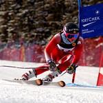 Stefanie Fleckenstein U18 Nationals GS - fastest 2nd run of the day PHOTO CREDIT: Derek Trussler