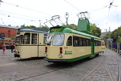 IMG_3161  Electric 50, Crich Tramway Museum (SomeBlokeTakingPhotos) Tags: england heritage derbyshire tram publictransport streetcar openairmuseum tramway touristattraction peakdistrictnationalpark tramcar crichtramwaymuseum transportmuseum tramwaymuseum electric50