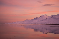 Winter day in Faskrudsfjordur (*Jonina*) Tags: iceland ísland faskrudsfjordur fáskrúðsfjörður reflection speglun mountains fjöll sandfell sky himinn clouds ský jónínaguðrúnóskarsdóttir 50faves 500views 1000views