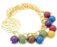 5th Avenue Gold Bracelet P9310A-1
