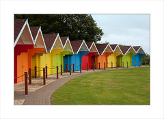 Scarborough Beach Huts... (Lady Haddon) Tags: yorkshire scarborough beachhuts 2012 kimhaddonphotography jul2012
