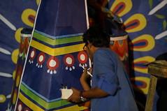 DSC04344_resize (selim.ahmed) Tags: nightphotography festival dhaka voightlander bangladesh nokton boishakh charukola nex6