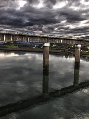 Puente sobre el ro Navia/ Bridge over Navia river, Navia, Spain (Jose Antonio. 62) Tags: bridge espa