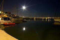 _MG_5018aa (yomimmo1) Tags: city longexposure light sea moon water night port canon reflections puerto eos star luces noche harbor mar agua ciudad luna estrella reflejos largaexposicin 600d