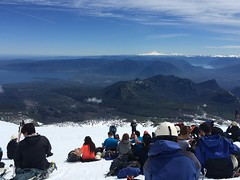 Volcan Villarrica (throgers) Tags: chile snow southamerica volcano hike villarrica pucon volcan pucn volcanvillarrica volcanohike surchico southamericatripnov14