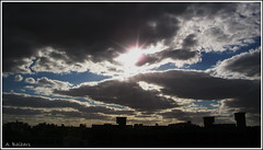 Dark Sky .. (A. Baibars) Tags: sunset sky cloud sun nature clouds dark darkness natural cloudy