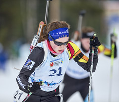 Biathlon2015_02_17 (62) (Don Voaklander) Tags: woman snow man ski male men female race women gun lap target poles skis princegeorge otway 2015canadawintergames voaklander donvoaklander