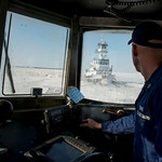 Coast Guard Cutter Cleat provides support for ice breaking in the upper Chesapeake Bay thumbnail