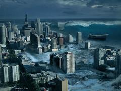 Tsunami Apocalypse (batkya) Tags: city flood wave tsunami disaster
