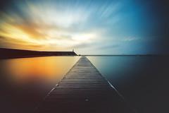 Newcastle Ocean Baths (Leighton Wallis) Tags: blue orange pool clouds sunrise newcastle dawn sony australia lee nsw newsouthwales alpha f40 1635mm newcastleoceanbaths mirrorless a7r bigstopper emount ilce7r