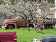 Chevrolet Farm Truck (Hugo-90) Tags: auto classic chevrolet car truck design washington antique farm vehicle wa skagit anacortes advance