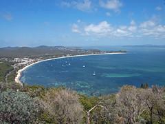 Nelson Bay (PhillMono) Tags: ocean new water wales port bay coast south north australia nelson olympus vista stephens e30