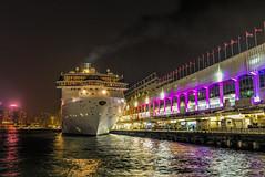 L1073018 Going for a Cruise (idunavision) Tags: ocean leica city cruise night hongkong lights boat kowloon schiff nachtaufnahme