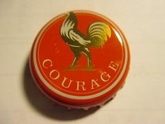 Courage 2 (kalscrowncaps) Tags: beer bottle soft caps ale cider drinks crown bier soda pils lager