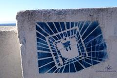 Promenade Art (SOBREVALORADO) Tags: chile street costa streetart graphicart graffiti bay coast stencil artist ciudad spray urbanart paseo coastal promenade valparaso costanera valpo chilean plantillas baha artecallejero rayado arteurbano artegrfico