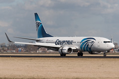 SU-GDD (GerardvdSchaaf) Tags: 737 737800 aircraft airplane aviation boeing eham egyptair egypte fabrikant sugdd schiphol vliegtuigen vliegtuigsoort