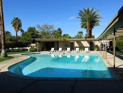 Palm Springs Sinatra House Piano Shaped Pool (hmdavid) Tags: california house home architecture modern palmsprings architect residence residential midcentury franksinatra estewartwilliams
