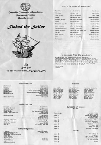 2004 Sinbad the sailor 00 Programme