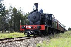Engine 2705. (Ian Ramsay Photographics) Tags: trip train buxton passenger 2015 wwwtrainworkscomau thirlmeresteamfest