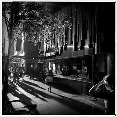 Market Street evenings... (Albion Harrison-Naish) Tags: sydney streetphotography australia newsouthwales unedited iphone marketst mobilephotography iphoneography sydneystreetphotography aobwfilm iphone5s akiralens