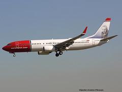 Norwegian Air Shuttle (Jacques PANAS) Tags: air norwegian shuttle boeing 7378jpwl lndyf msn390043482