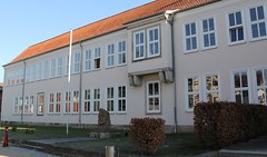 Anne Frank school (:Linda:) Tags: school germany town bluesky thuringia themar eastgermanarchitecture annefrankschule