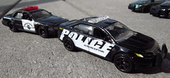 "Matchbox ""Police Interceptor"" and ""Highway Patrol"" (zargoman) Tags: new ford scale car sedan toy model small police mini cruiser lawenforcement matchbox 821 diecast crownvictoria policeinterceptor mb821"