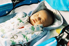 Sleep  (Wei Tong) Tags: baby minolta little x700