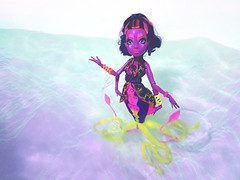 great scarier reef // Kala Mer'ri #1 (BlahBlair) Tags: ocean sea doll dolls octopus mermaid mh mattel kraken ghouls dollphotography monsterhigh monsterhighdoll greatscarrierreef kalamerri