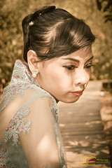 DSC_1612 (dannylucious) Tags: portrait beauty model asia traditional mangrove modelling indonesian surabaya kebaya