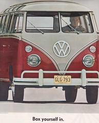 Volkswagen 1963 (moogirl2) Tags: vintage volkswagen 60s retro vintagecars 1963 vwbus vintageads 60sads vintagecarads