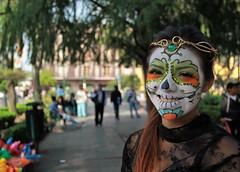 La calavera Catrina (Jos Lira) Tags: calavera catrina coyoacn mxico