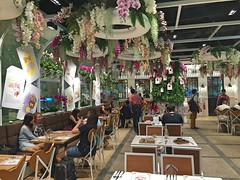 Happy Customers (Jerry (jerrywongjh)) Tags: singapore changiairport changi airport hellokitty hellokittycafe themedcafe sanrio   harokiti kitihowaito terminal3 singaporechangiairport food cafe