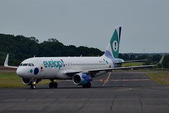 Evelop Airbus A320-214(WL) EC-LZD at Newcastle Airport 30/6/16 (CraigPatrick24) Tags: plane newcastle airplane flying aircraft aviation transport flight aeroplane airbus arrival airliner jetliner taxiing taxiway newcastleairport airbusa320 airbusa320214 evelop airbusa320214wl eclzd