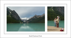 Fun Things to do at Lake Louise (ken.krach (kjkmep)) Tags: lakelouise banffnationalpark people
